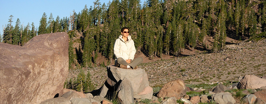 Voyage initiatique au Mont Shasta - Christine Cal