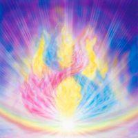 La triple flamme christique - Christine Cal